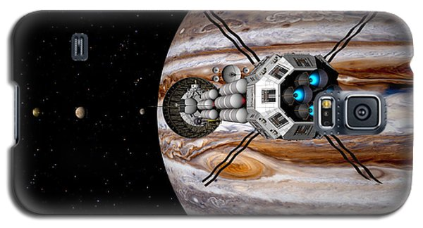 Galaxy S5 Case featuring the digital art Changing Course by David Robinson