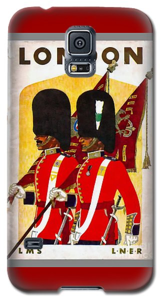 Changing The Guard London - 1937 Galaxy S5 Case