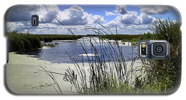 Galaxy S5 Case featuring the photograph Channel Into J. C. Murphy Lake by Scott Kingery