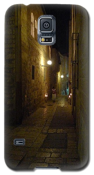 Galaxy S5 Case featuring the photograph Chanukah At The Old City Of Jerusalem by Dubi Roman