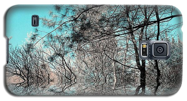 Galaxy S5 Case featuring the photograph Chaos  by Elfriede Fulda