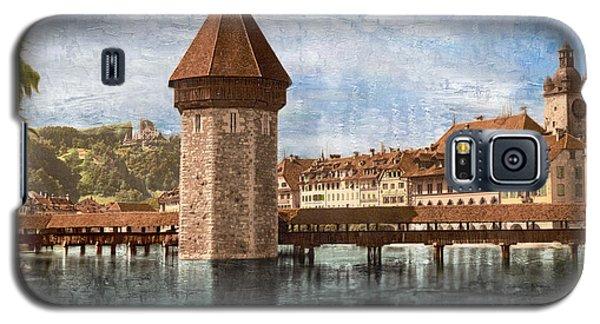 Chapel Bridge In Lucerne Galaxy S5 Case