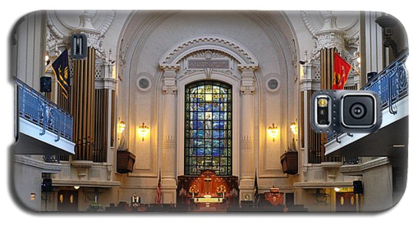 Chapel Interior - Us Naval Academy Galaxy S5 Case by Lou Ford