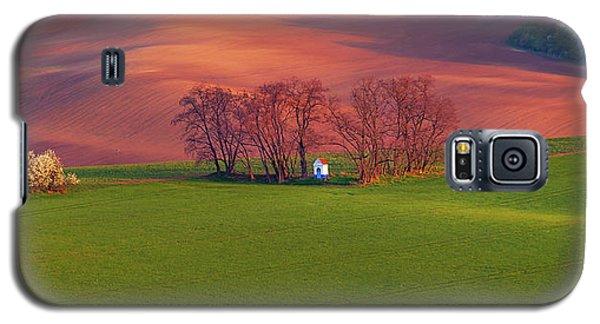 Galaxy S5 Case featuring the photograph Chapel St Barbara. Moravian Tuscany by Jenny Rainbow