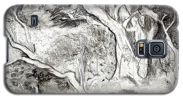 Charcoal Copse Galaxy S5 Case
