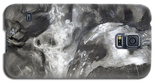 Charcoal Waterfall Galaxy S5 Case