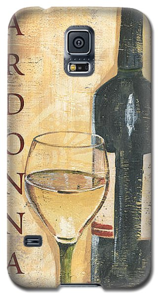 Wine Galaxy S5 Case - Chardonnay Wine And Grapes by Debbie DeWitt