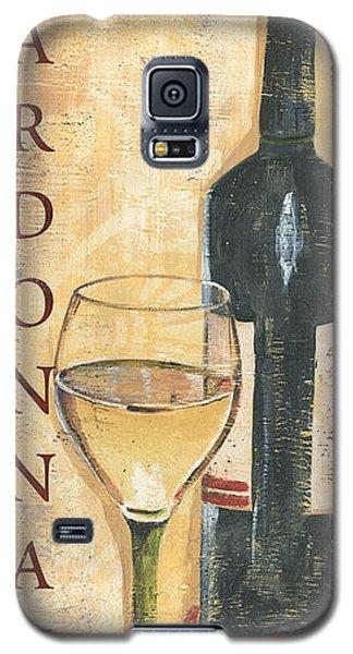 Chardonnay Wine And Grapes Galaxy S5 Case by Debbie DeWitt