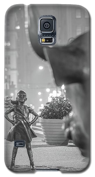 Charging Bull And Fearless Girl Nyc  Galaxy S5 Case