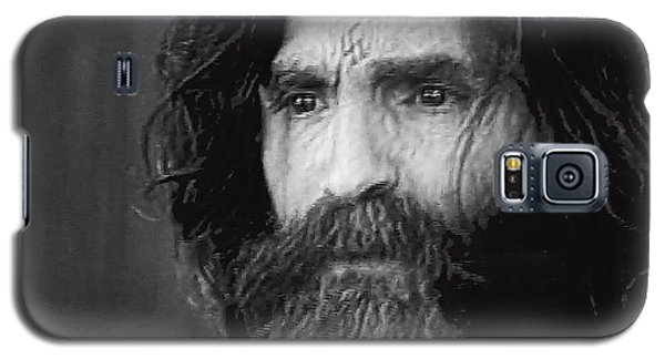 Charles Manson Screen Capture Circa 1970-2015 Galaxy S5 Case