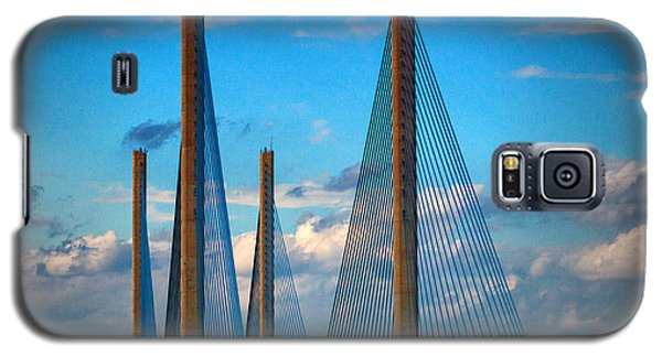 Charles W Cullen Bridge South Approach Galaxy S5 Case