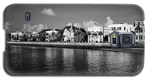 Charleston Battery Row Black And White Galaxy S5 Case