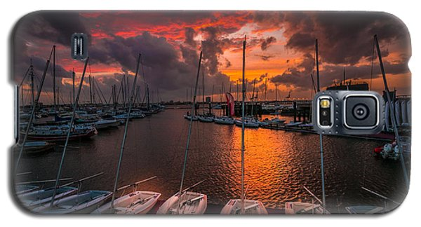 Galaxy S5 Case featuring the photograph Charleston Harbor by RC Pics