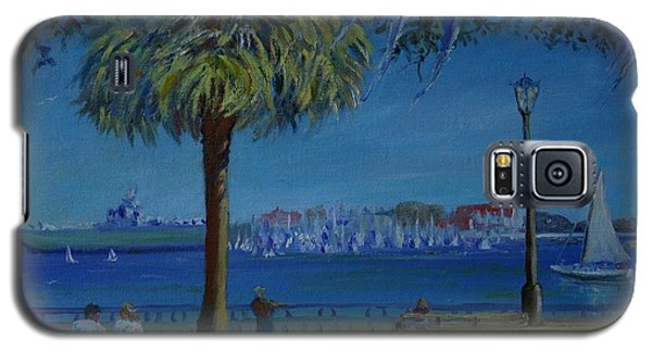Charleston Harbor Sunday Regatta Galaxy S5 Case