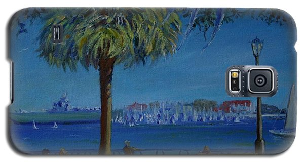 Charleston Harbor Sunday Regatta Galaxy S5 Case