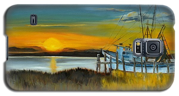 Galaxy S5 Case featuring the painting Charleston Low Country by Lindsay Frost
