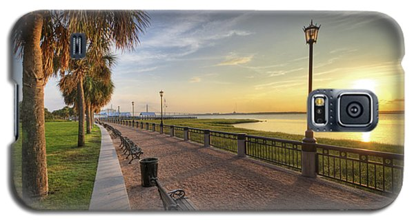 Charleston Sc Waterfront Park Sunrise  Galaxy S5 Case