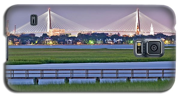 Charleston South Carolina Skyline Galaxy S5 Case