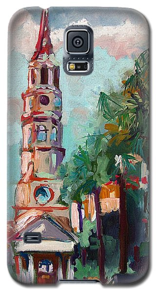 Charleston St Phillips Church Galaxy S5 Case by Ginette Callaway