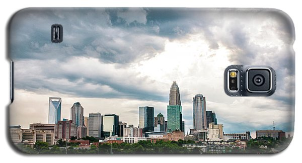 Galaxy S5 Case featuring the photograph Charlotte In The Clouds by Phyllis Peterson
