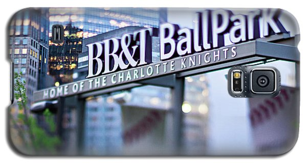 Charlotte Nc Usa  Bbt Baseball Park Sign  Galaxy S5 Case