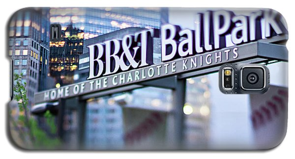 Charlotte Nc Usa  Bbt Baseball Park Sign  Galaxy S5 Case