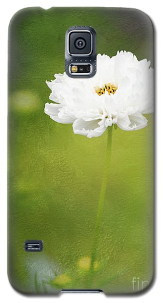 Charming White Cosmos Galaxy S5 Case