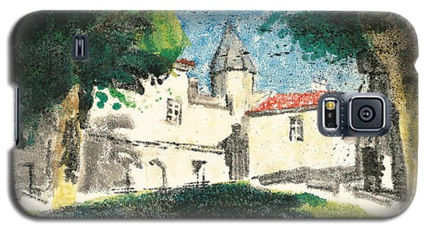 Galaxy S5 Case featuring the painting Chartreuse Avignon by Martin Stankewitz
