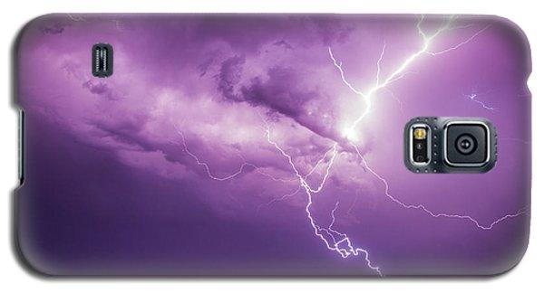 Chasing Nebraska Lightning 018 Galaxy S5 Case