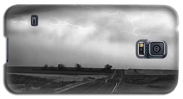Chasing The Storm - County Rd 95 And Highway 52 - Colorado Galaxy S5 Case