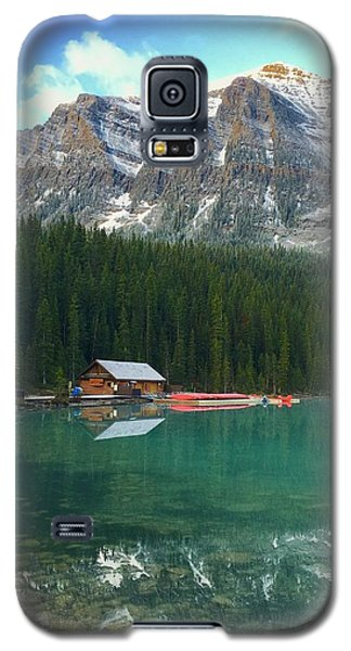 Chateau Boat House Galaxy S5 Case