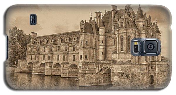 Chateau De Chenonceau Galaxy S5 Case by Nigel Fletcher-Jones