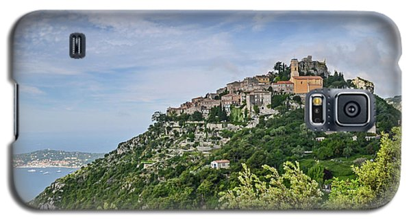 Galaxy S5 Case featuring the photograph Chateau D'eze On The Road To Monaco by Allen Sheffield