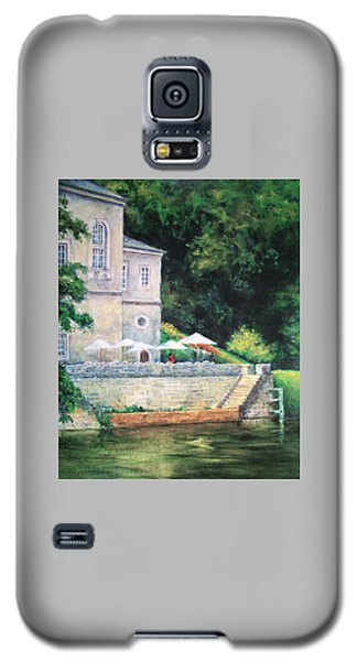 Chateau On The Lot River Galaxy S5 Case