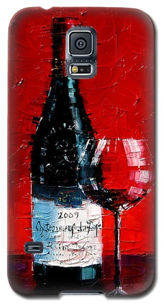 Still Life With Wine Bottle And Glass I Galaxy S5 Case