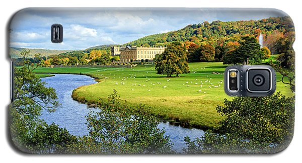 Chatsworth House View Galaxy S5 Case