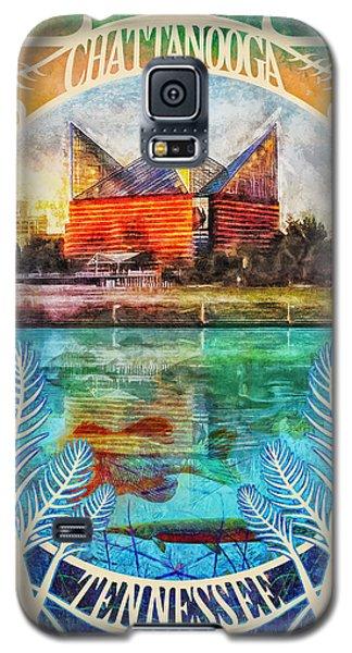 Chattanooga Aquarium Poster Galaxy S5 Case