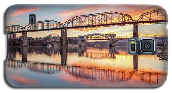 Chattanooga Sunset 5 Galaxy S5 Case