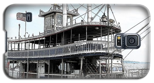 Chautauqua Belle Steamboat With Ink Sketch Effect Galaxy S5 Case