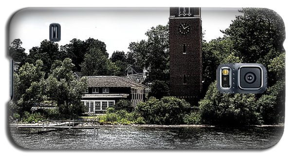 Chautauqua Institute Miller Bell Tower 2 With Ink Sketch Effect Galaxy S5 Case