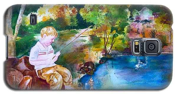 Chayton's Lake In The Woods Galaxy S5 Case by Sharon Mick