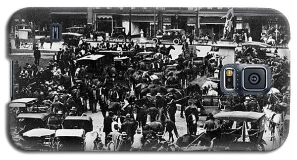Cheapside Public Square In Lexington - Kentucky - April 7  1920 Galaxy S5 Case