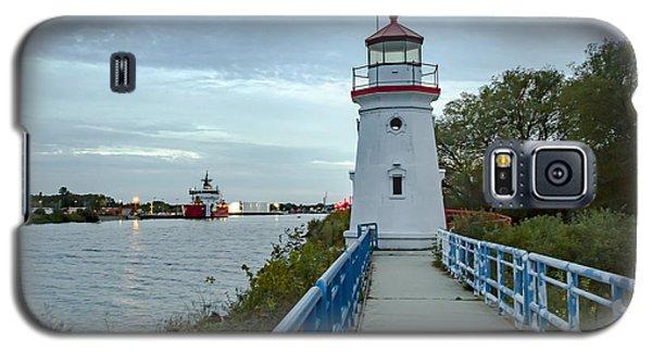 Cheboygan Crib Lighthouse Lake Huron, Lower Peninsula Mi Galaxy S5 Case