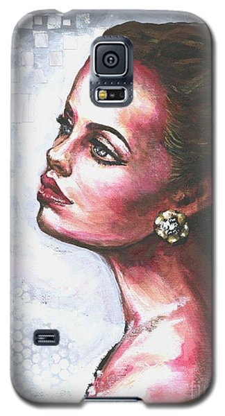Galaxy S5 Case featuring the painting Checkered Past Part II by Alga Washington