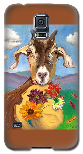 Cheeky Goat Galaxy S5 Case by Susan Thomas