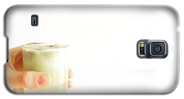 Music Galaxy S5 Case - Cheers, Happy Humpday! #juice #raw by E M I L Y  B U R T O N