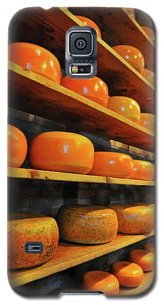 Galaxy S5 Case featuring the photograph Cheese In Holland by Harry Spitz