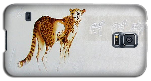 Cheetah And Zebras Galaxy S5 Case