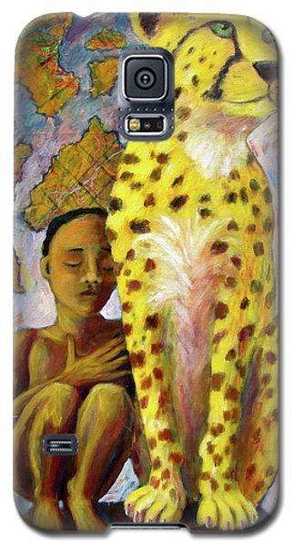 Cheetah Boy Galaxy S5 Case