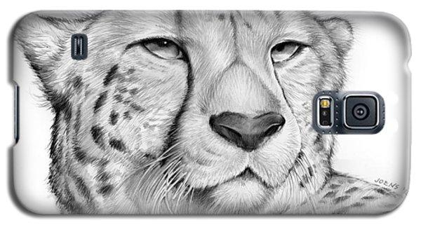 Cheetah Galaxy S5 Case - Cheetah by Greg Joens